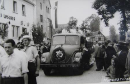 75-Jahr Feier der Brauerei Loscher KG