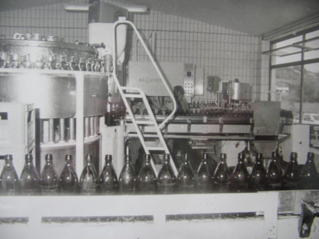 Erweiterung der Flaschenfüllerei und des Sudhauses