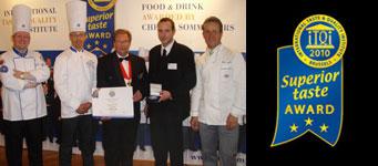 Auszeichnung mit dem Superior Taste Award
