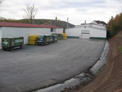 Aushub und Errichtung einer Freifläche von über 3000 m² zur LKW-Verladung