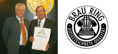 30 Jahre BRAURING-Mitgliedschaft