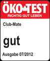 CLUB-MATE von ÖKO-TEST gut bewertet