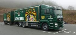 Ein 2. Lastzug mit 1400 Kisten Stellplatzfläche nimmt die Arbeit auf