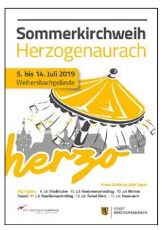 Juli 2019 – Sommerkirchweih Herzogenaurach