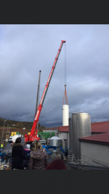 November 2019 – Einsatz neuer Kohlensäure- und Wassertank